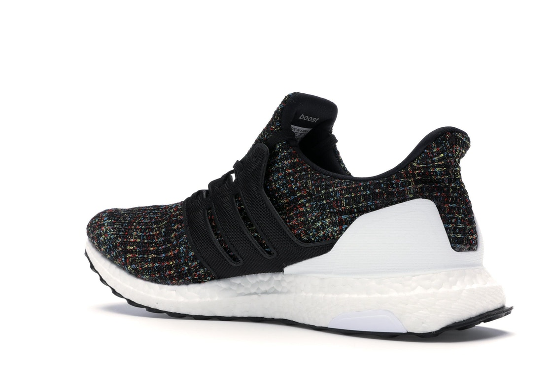 3fa6952dc2e adidas Ultra Boost 4.0 Black Multi-Color White Heel Cage - F35232