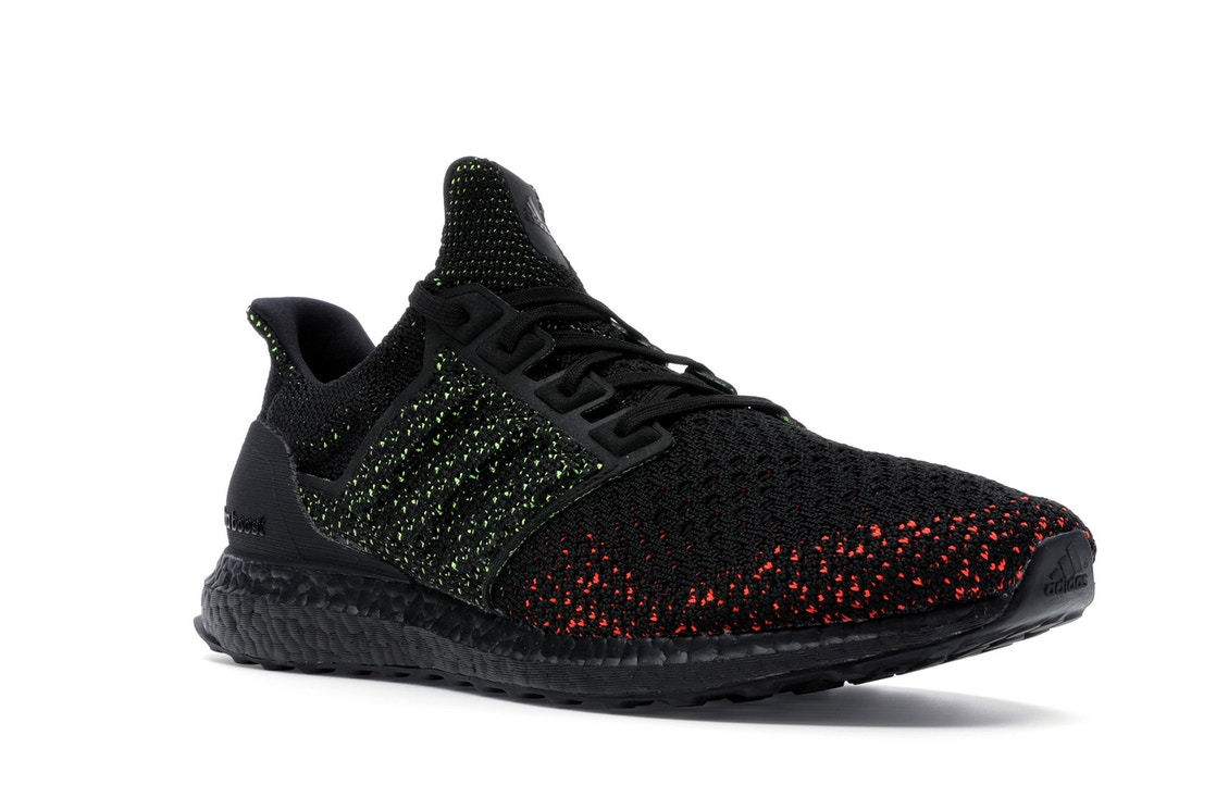 6597a84fe adidas Ultra Boost Clima Core Black Solar Red - AQ0482