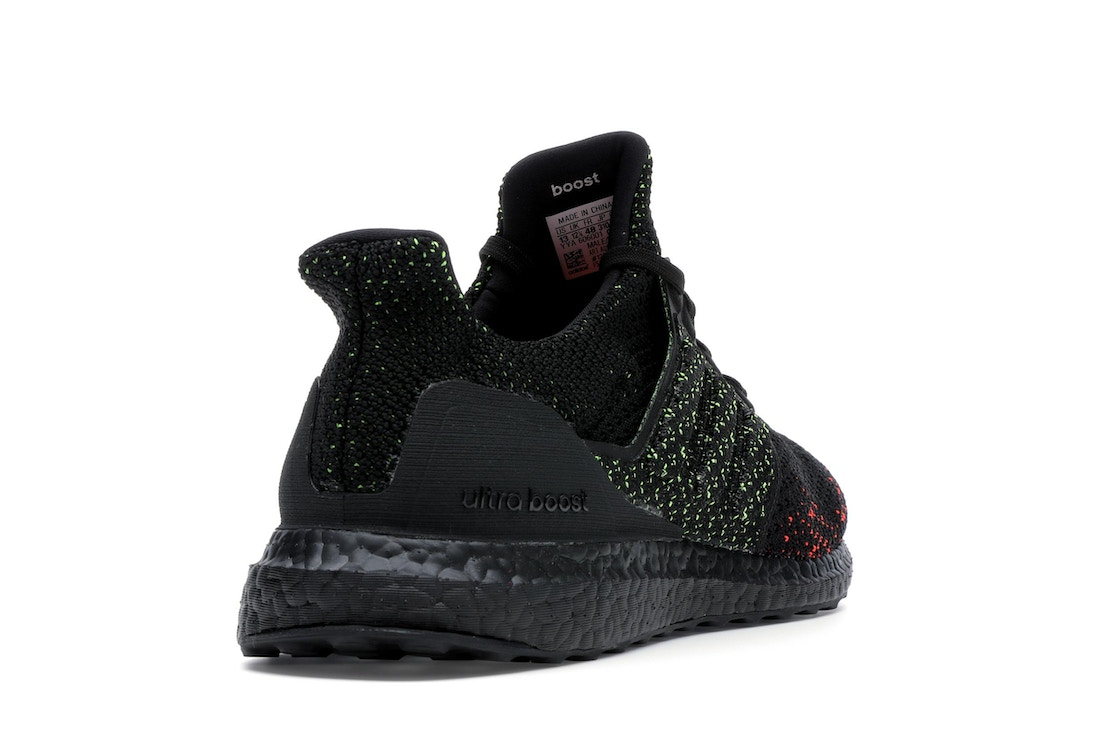 593832476f630 adidas Ultra Boost Clima Core Black Solar Red - AQ0482