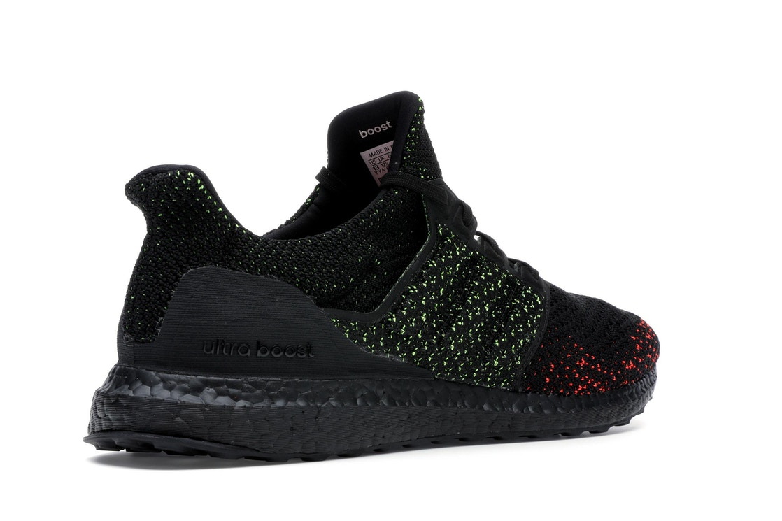 9336874301d29 adidas Ultra Boost Clima Core Black Solar Red - AQ0482