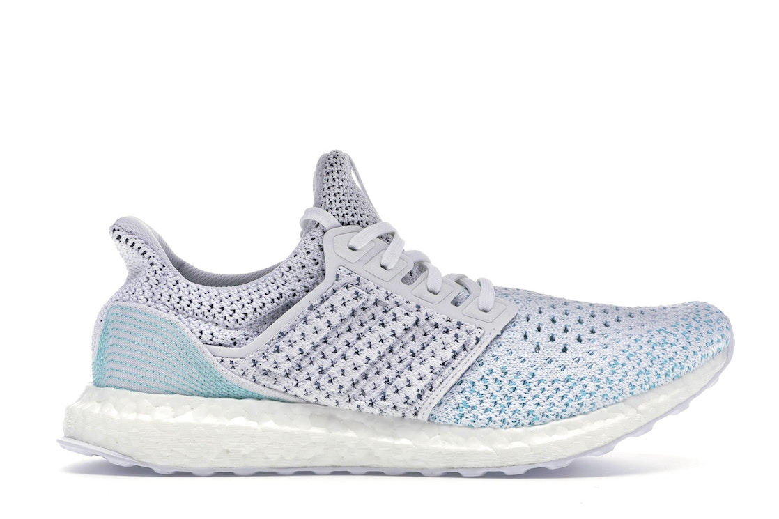 68a74563e adidas Ultra Boost Clima Parley White Blue - BB7076
