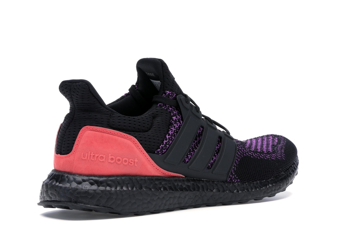 low cost 0d69e cd484 adidas Ultra Boost Core Black Active Purple Shock Red - EE3712