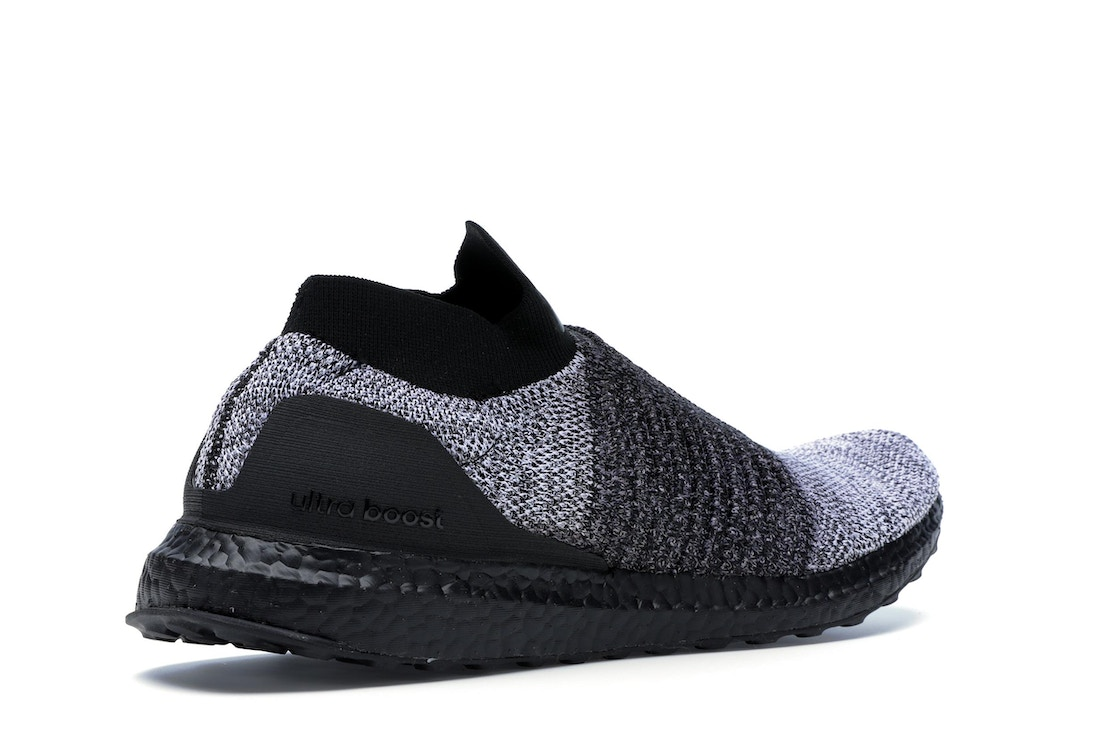 check out 9e639 2abe4 adidas Ultra Boost Laceless Mid Black Oreo