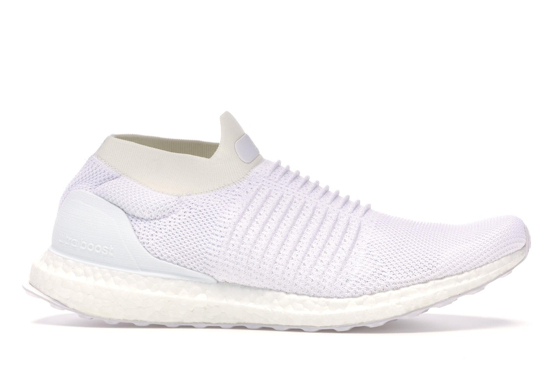 9857418bc adidas Ultra Boost Laceless Mid Triple White - S80768