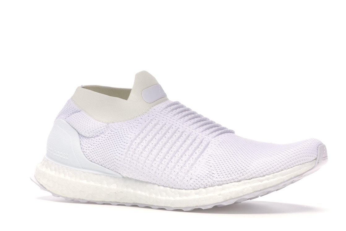21909a36b28 adidas Ultra Boost Laceless Mid Triple White - S80768