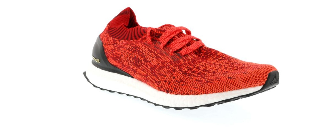 new product 7568f b07dc adidas Ultra Boost Uncaged Solar Red