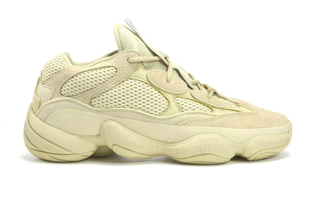 new arrival 72367 e04ac adidas Yeezy 500 Super Moon Yellow