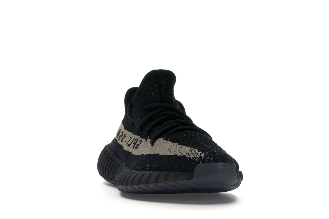 info for 184db a6627 adidas Yeezy Boost 350 V2 Core Black Green - BY9611