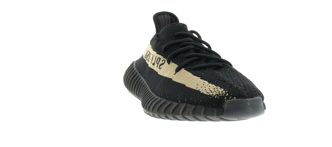 info for 7e3c1 6032e adidas Yeezy Boost 350 V2 Core Black Green - BY9611