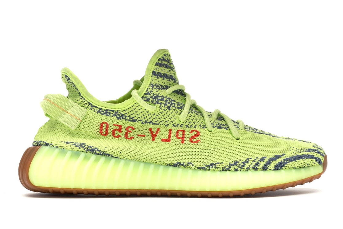 3819e2c68 yeezy boost 350 v2 semi frozen yellow glow in the dark