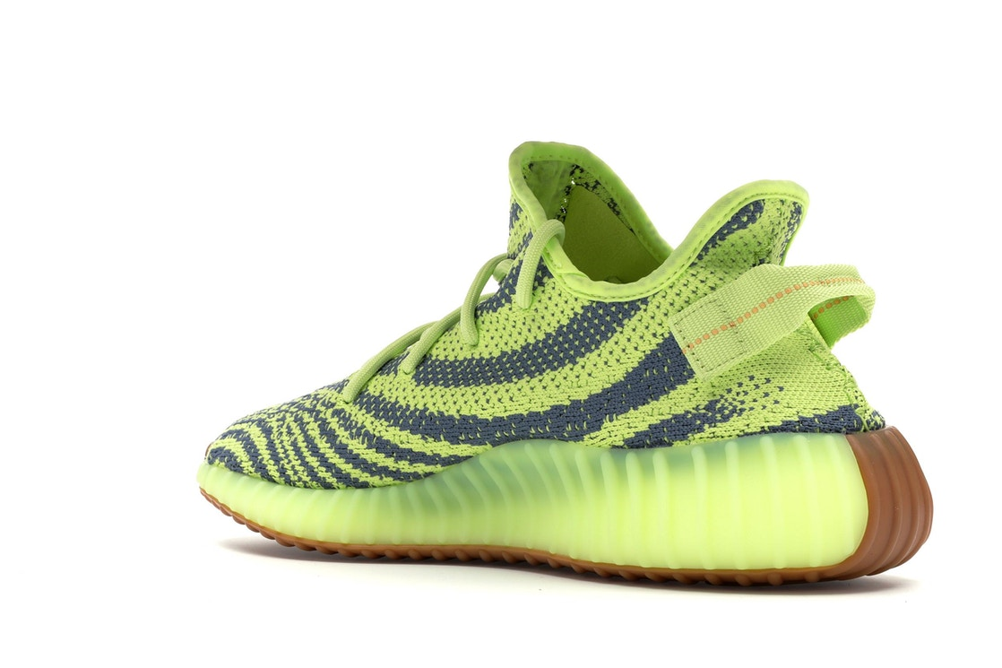 414d3f28746377 adidas Yeezy Boost 350 V2 Semi Frozen Yellow - B37572