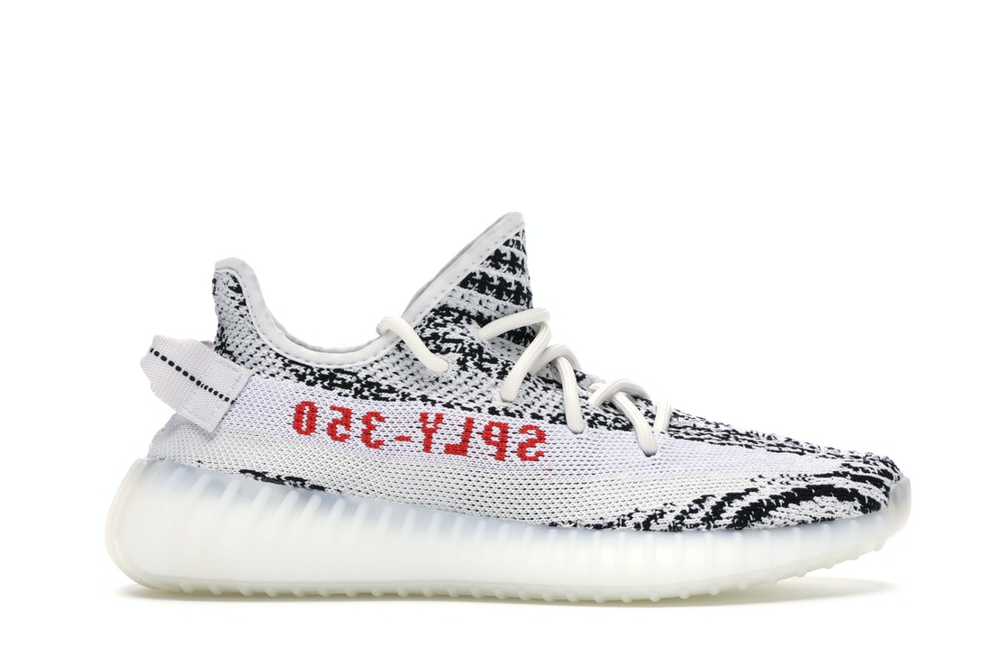 vast selection look for lace up in adidas Yeezy Boost 350 V2 Zebra - CP9654