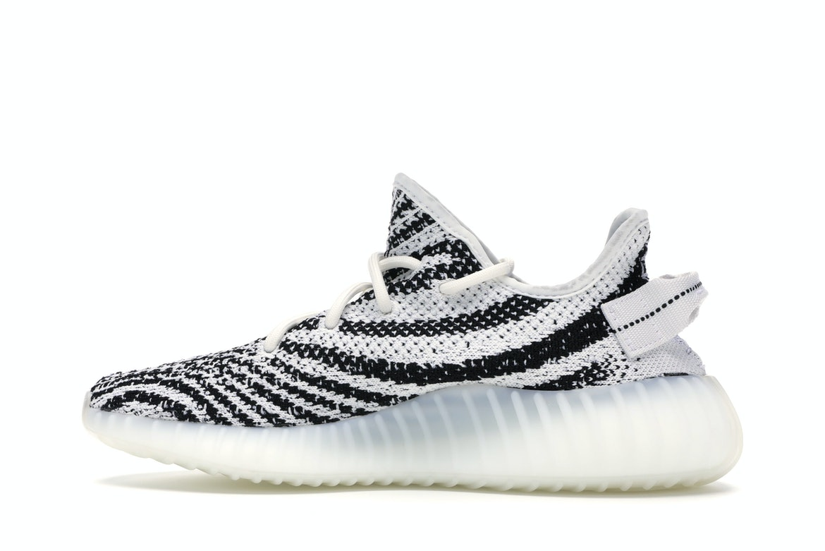 adidas yeezy boost black and white