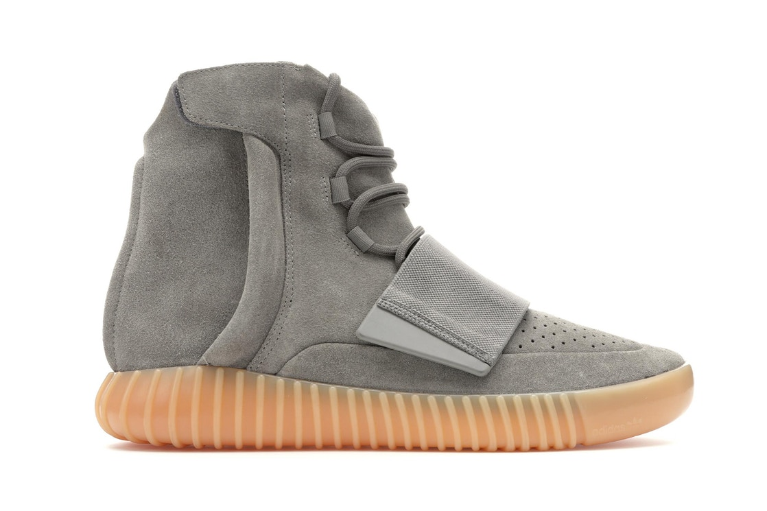 784b744c14bc8 adidas Yeezy Boost 750 Light Grey Glow In the Dark - BB1840