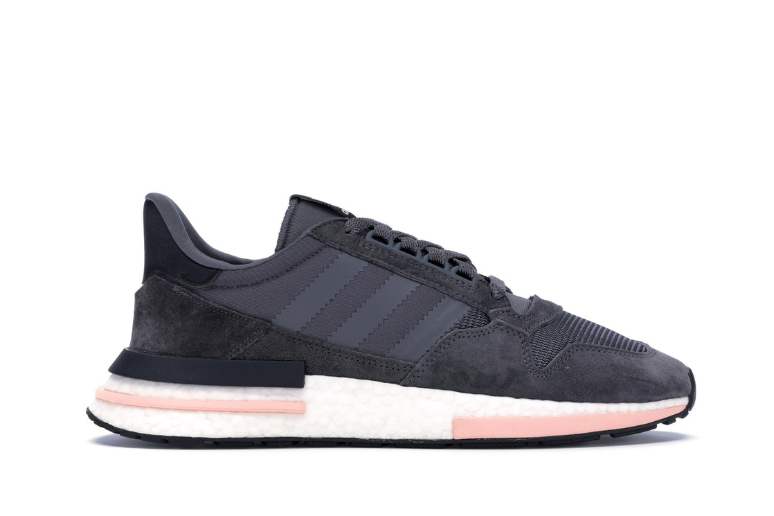 timeless design 884b9 c2b52 adidas ZX 500 RM Grey Five Clear Orange - B42217