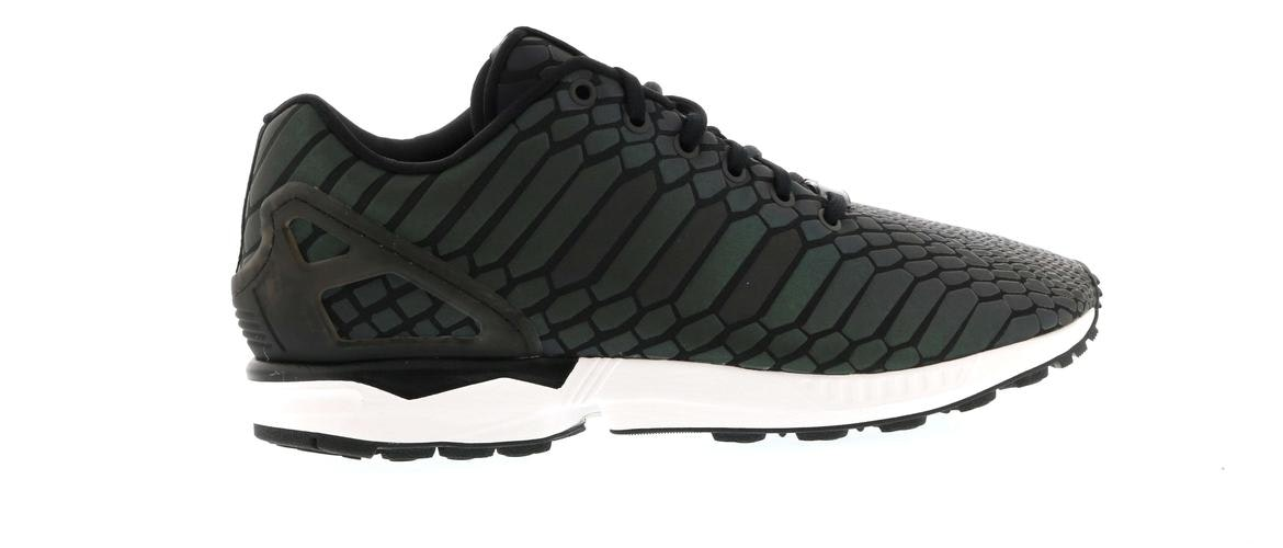 save off b2dc4 e94a4 real adidas zx flux black silver 3b848 4c265