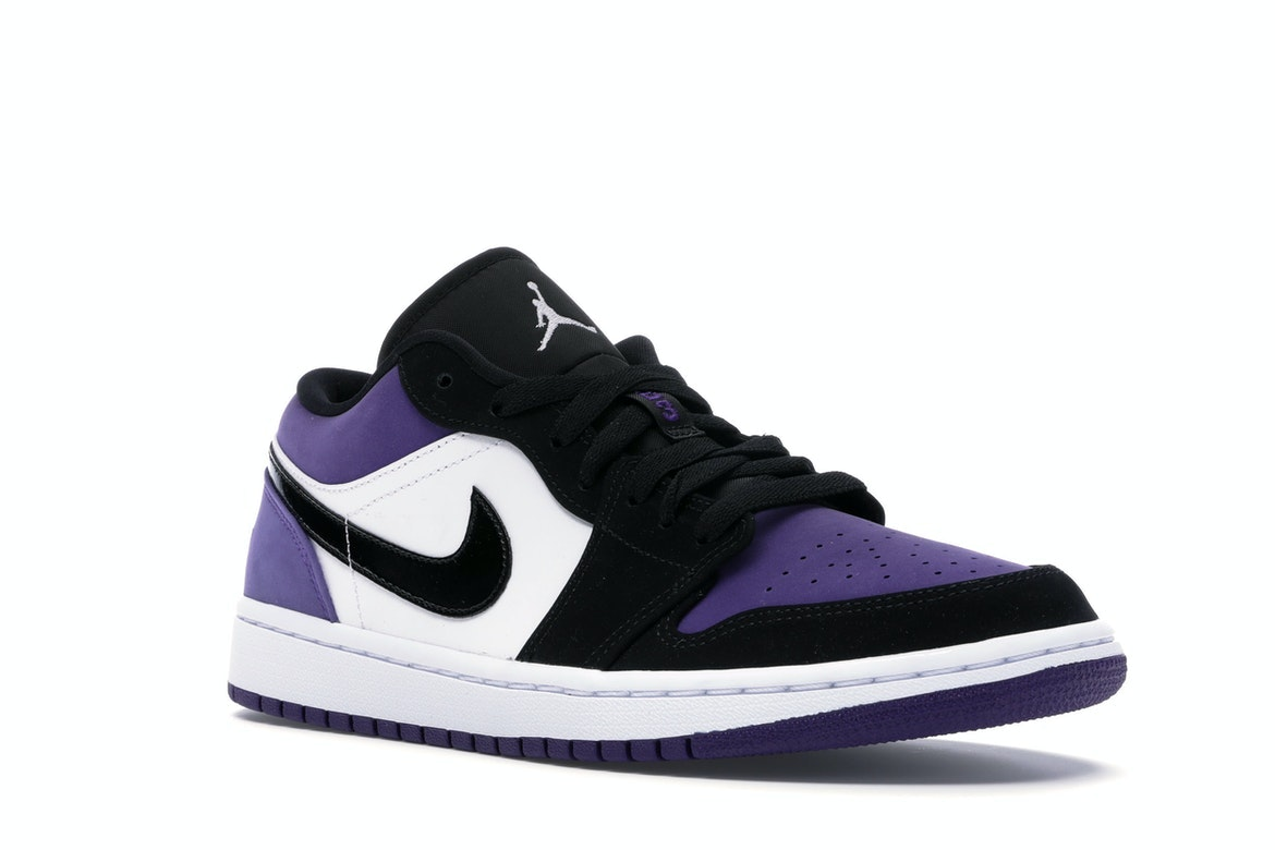 nike air jordan 1 court purple stockx