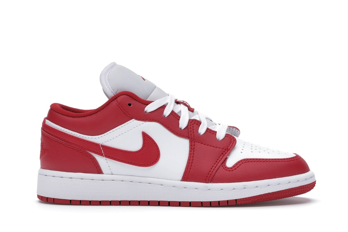 Jordan 1 Low Gym Red White Gs 553560 611