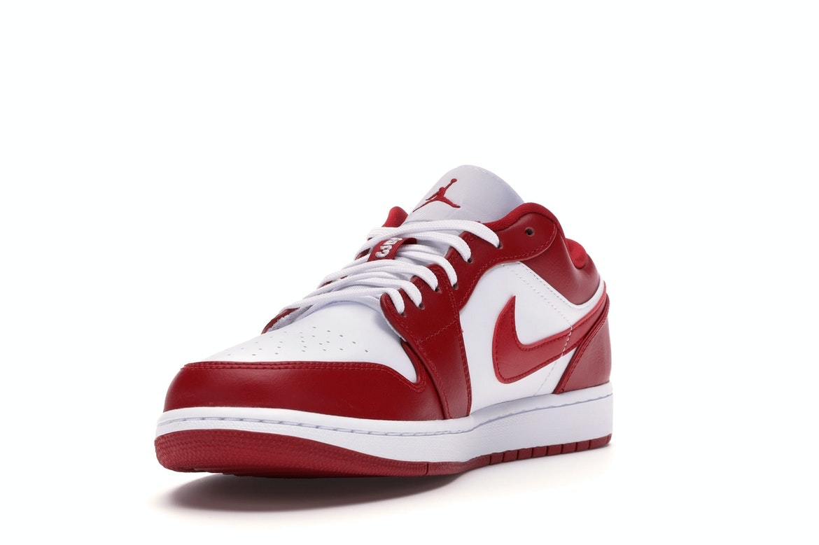 air jordan 1 low blanc rouge et noir