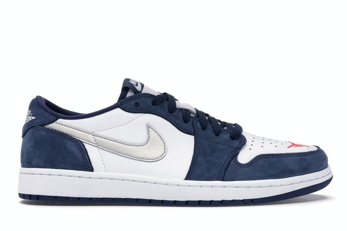 Jordan 1 Low SB Midnight Navy