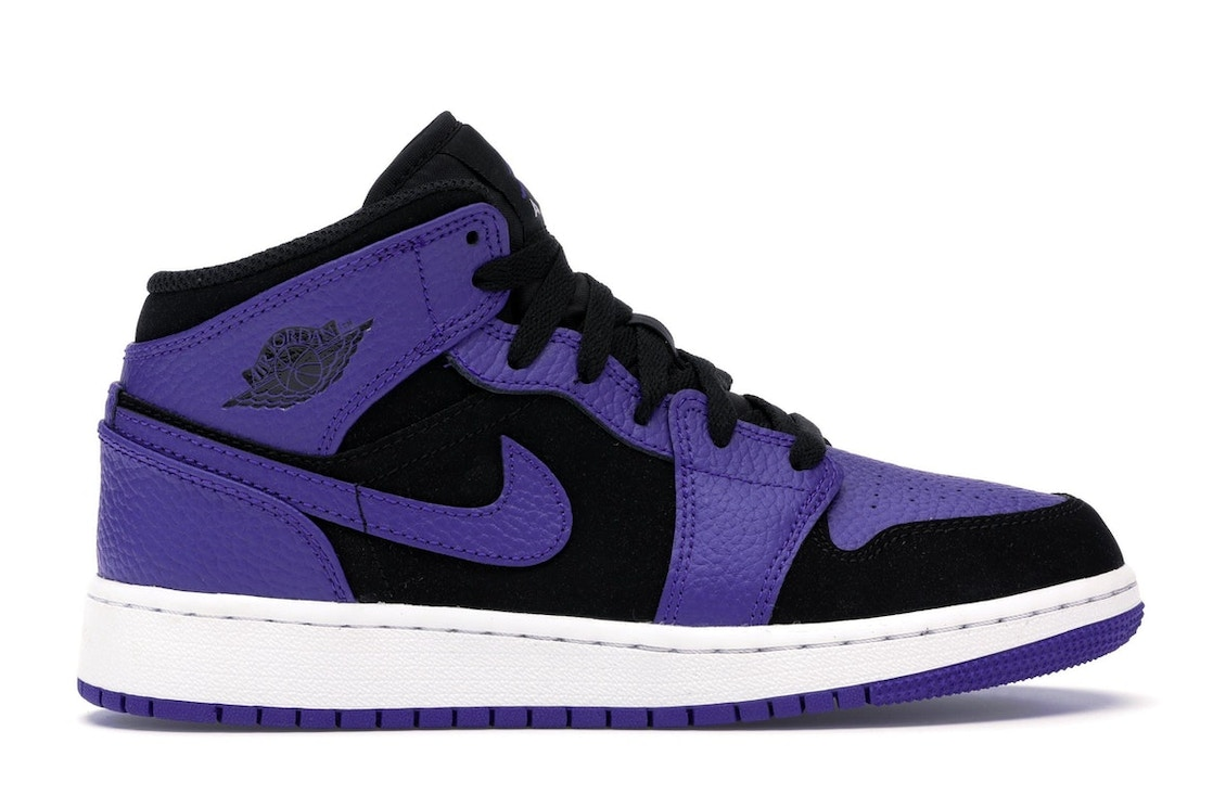 separation shoes 60f30 291cc Sell. or Ask. Size  5Y. View All Bids. Jordan 1 Mid Black Dark Concord ...