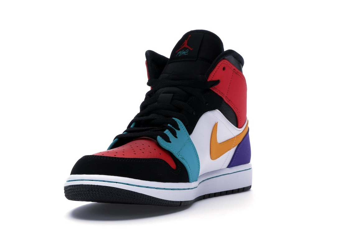 124d92abb6e Jordan 1 Mid Bred Multi-Color - 554724-125