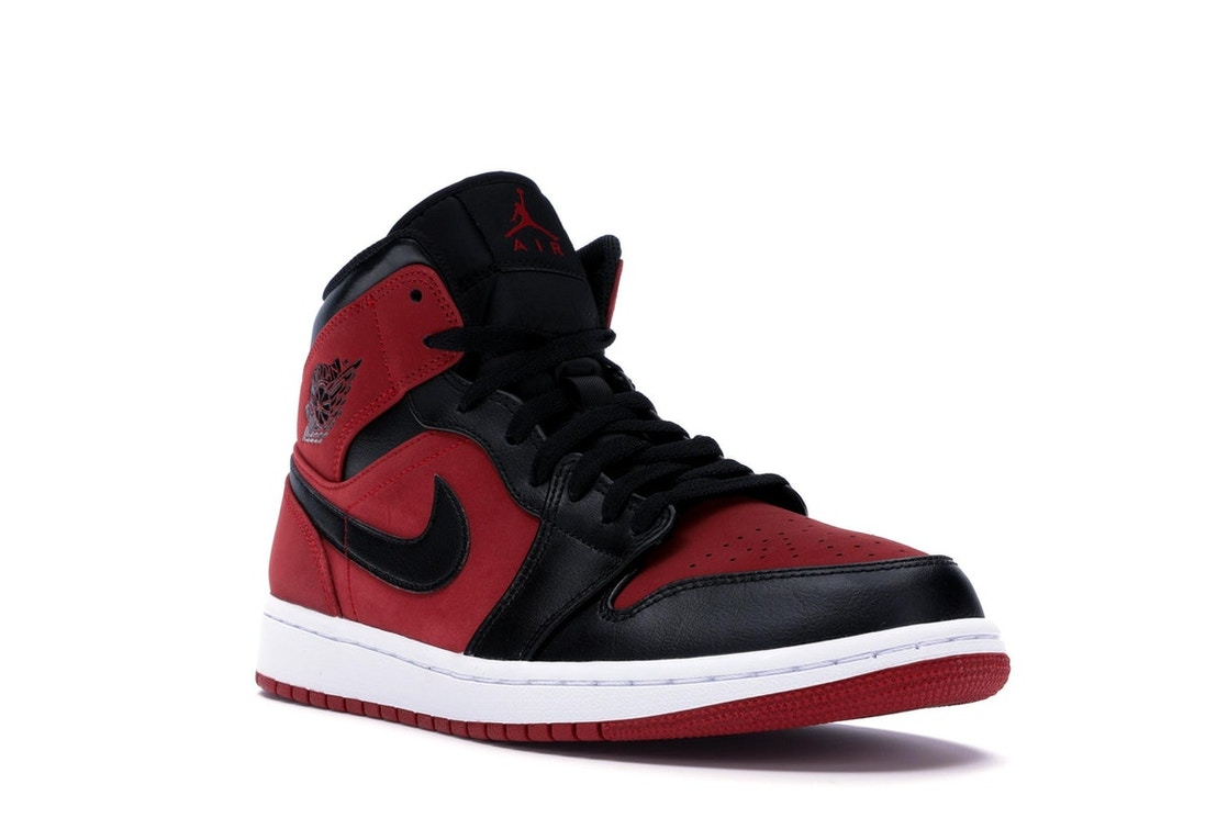 b4f679582a11 Jordan 1 Mid Gym Red Black - 554724-610