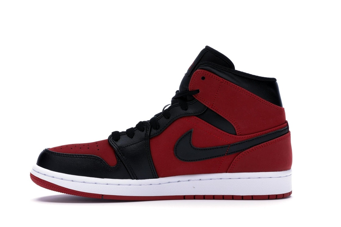 b2182450b234 Jordan 1 Mid Gym Red Black - 554724-610