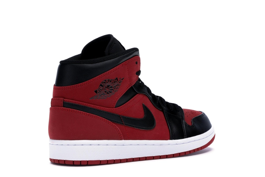 info for dac7a 6e1a3 Jordan 1 Mid Gym Red Black - 554724-610