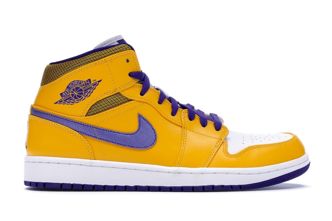 001ded0c5159a0 Sell. or Ask. Size  9.5. View All Bids. Air Jordan 1 Mid Lakers