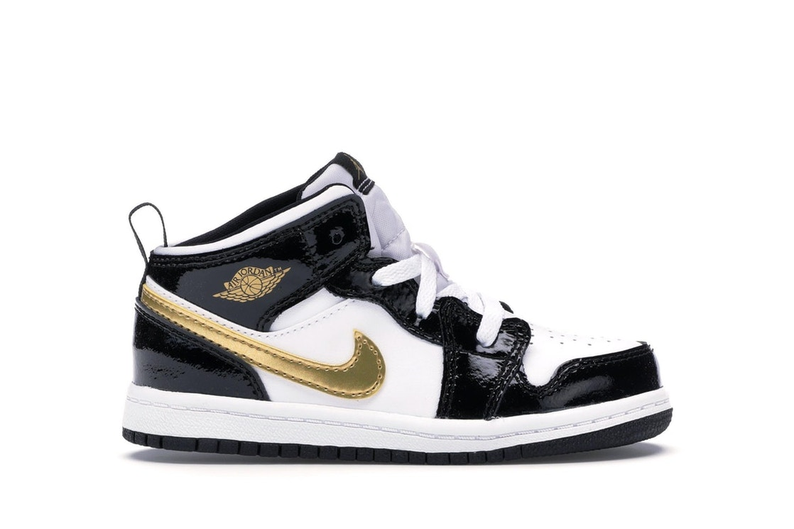 finest selection 87964 f8b0a Sell. or Ask. Size 5. View All Bids. Jordan 1 Mid Patent Black White ...