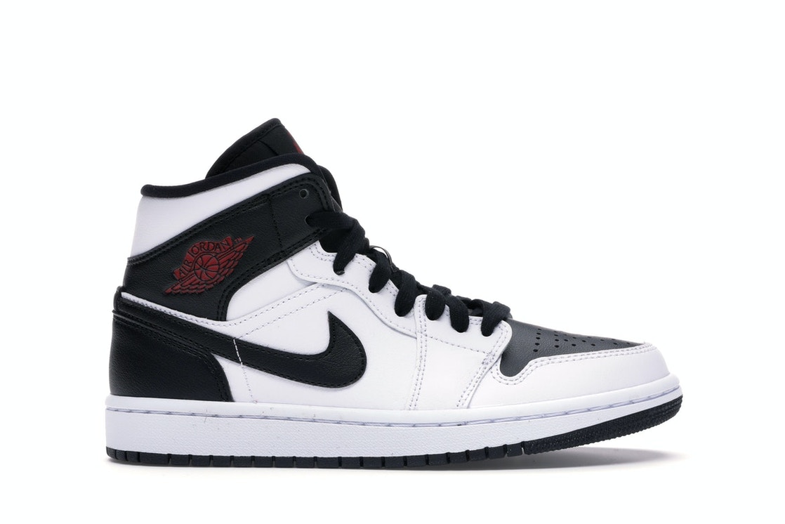 high fashion great fit save up to 80% Jordan 1 Mid Reverse Black Toe (W)