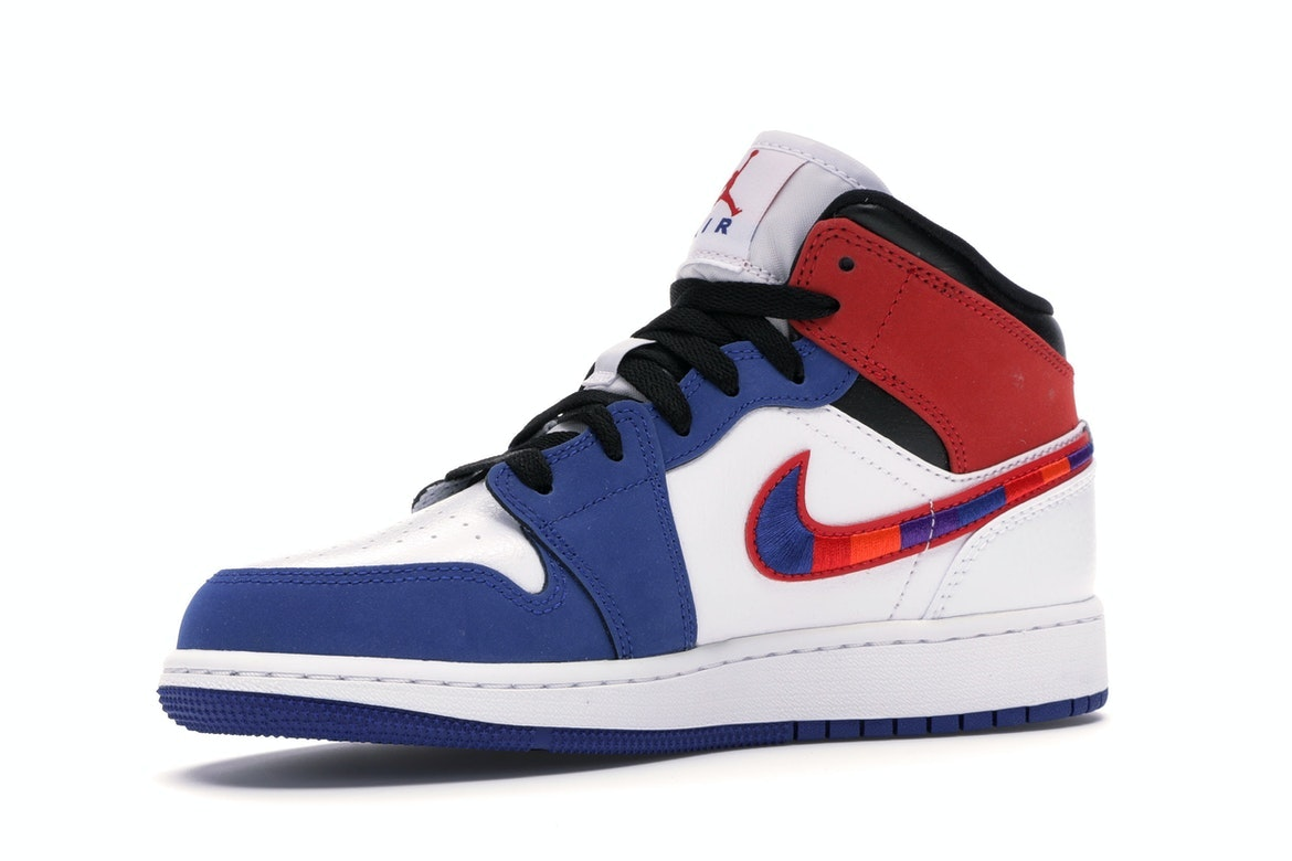 air jordans red white and blue