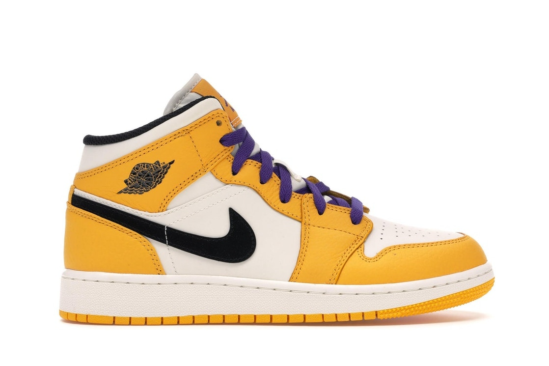 5e572e9379d Sell. or Ask. Size: 4.5Y. View All Bids. Jordan 1 Mid SE Lakers ...