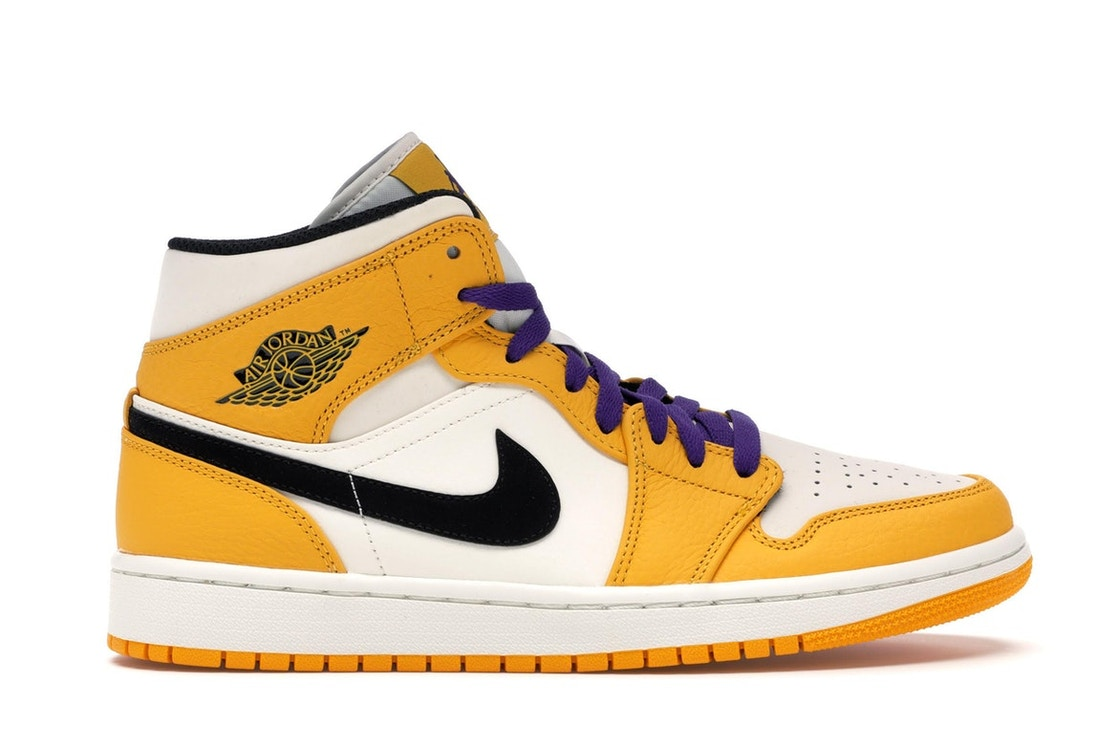 141798da726 Sell. or Ask. Size 7. View All Bids. Jordan 1 Mid SE Lakers