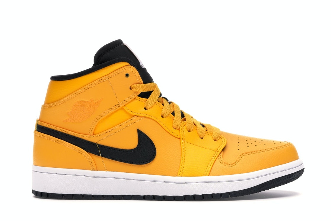 5e7767c1 Sell. or Ask. Size: 9.5. View All Bids. Jordan 1 Mid University Gold Black