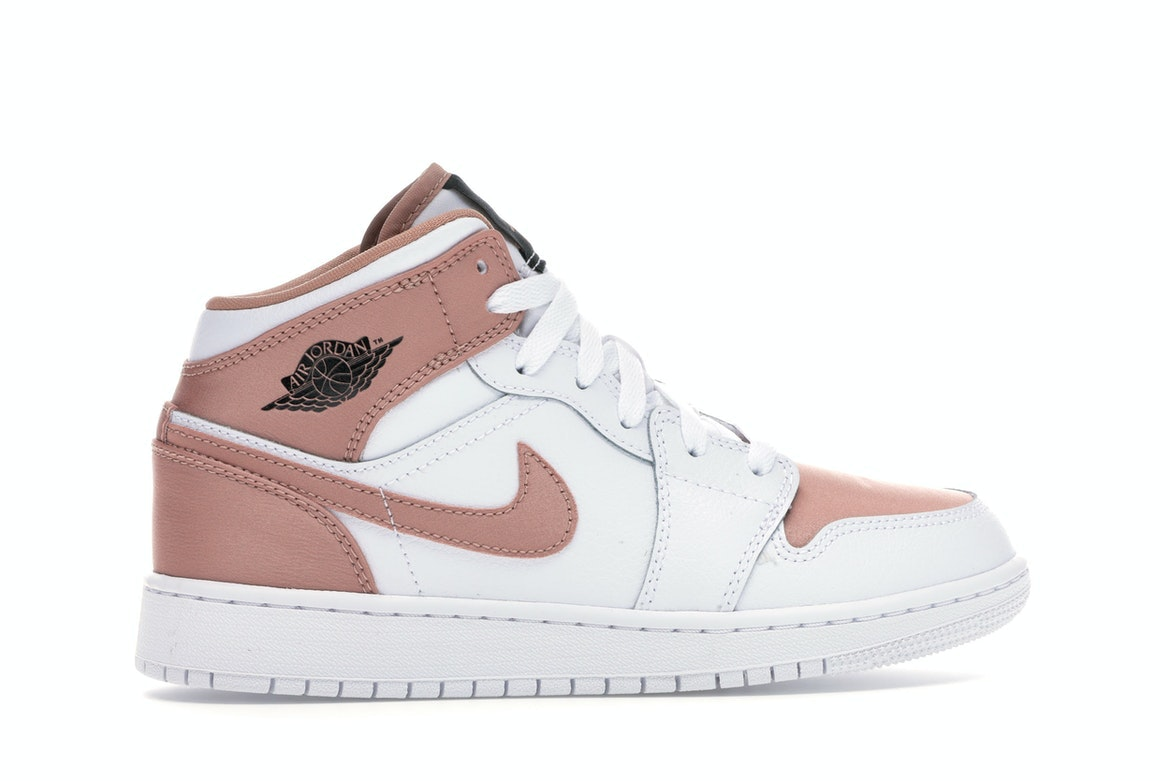 air jordan 1 mid gt rose gold