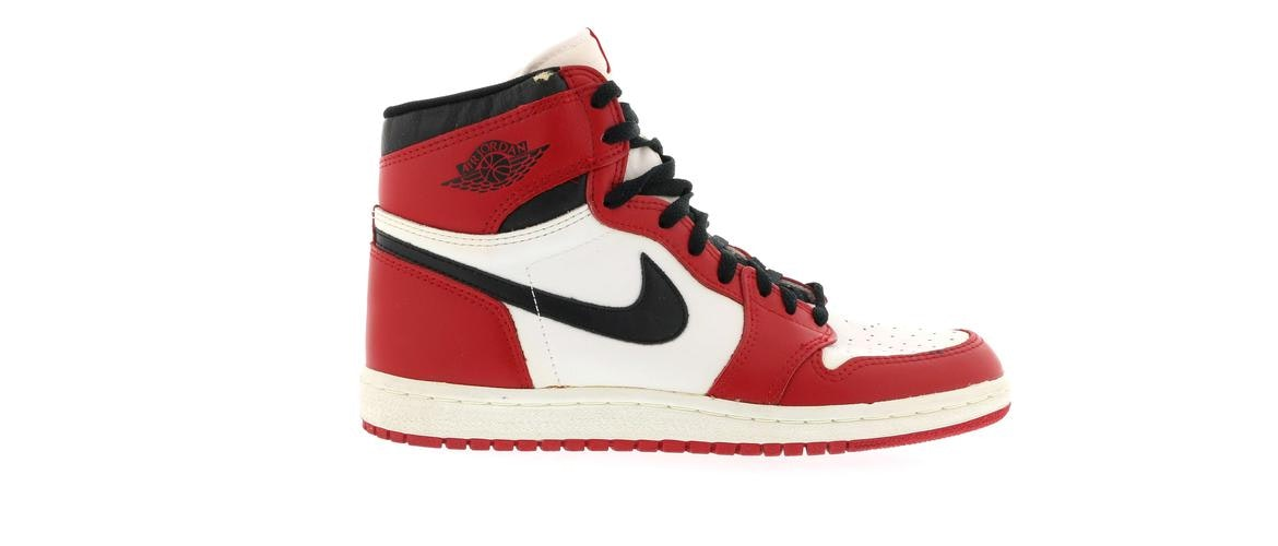 1985 ORIGINAL OG Nike Air Jordan 1 Chicago I White Black Red Bred 4280 New 12