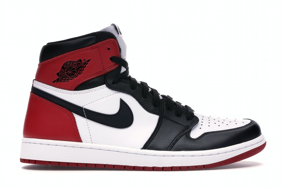 0f763b4aa Jordan 1 Retro Black Toe (2016) - 555088-125