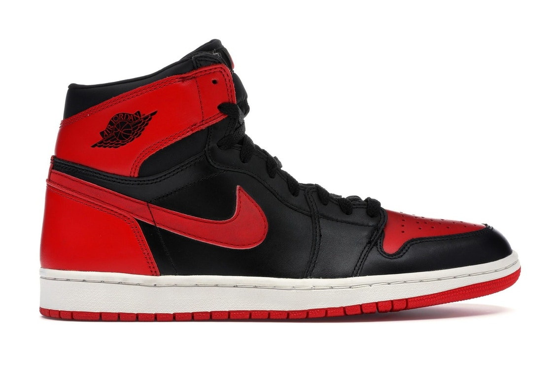 wholesale dealer 0094d 5737d Jordan 1 Retro Bred (2001) - 136066-061