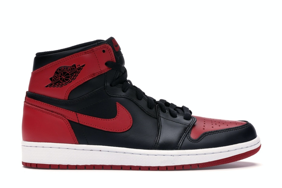 best sneakers 7504b f2cee Sell. or Ask. Size  9.5. View All Bids. Jordan 1 Retro Bred ...