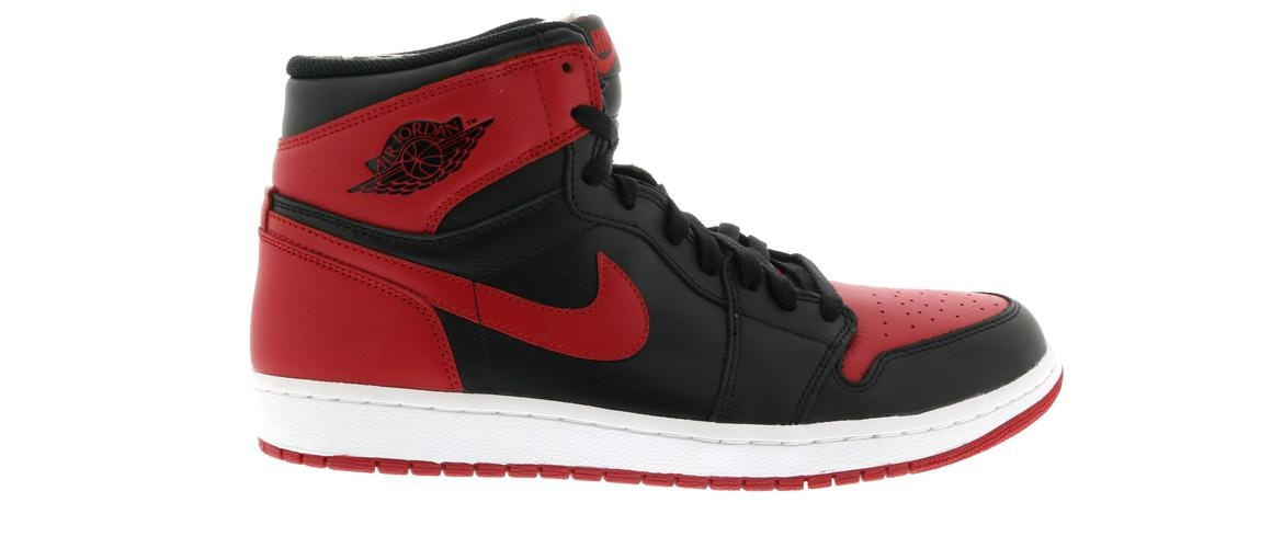 2013 air jordan 1 bred for sale