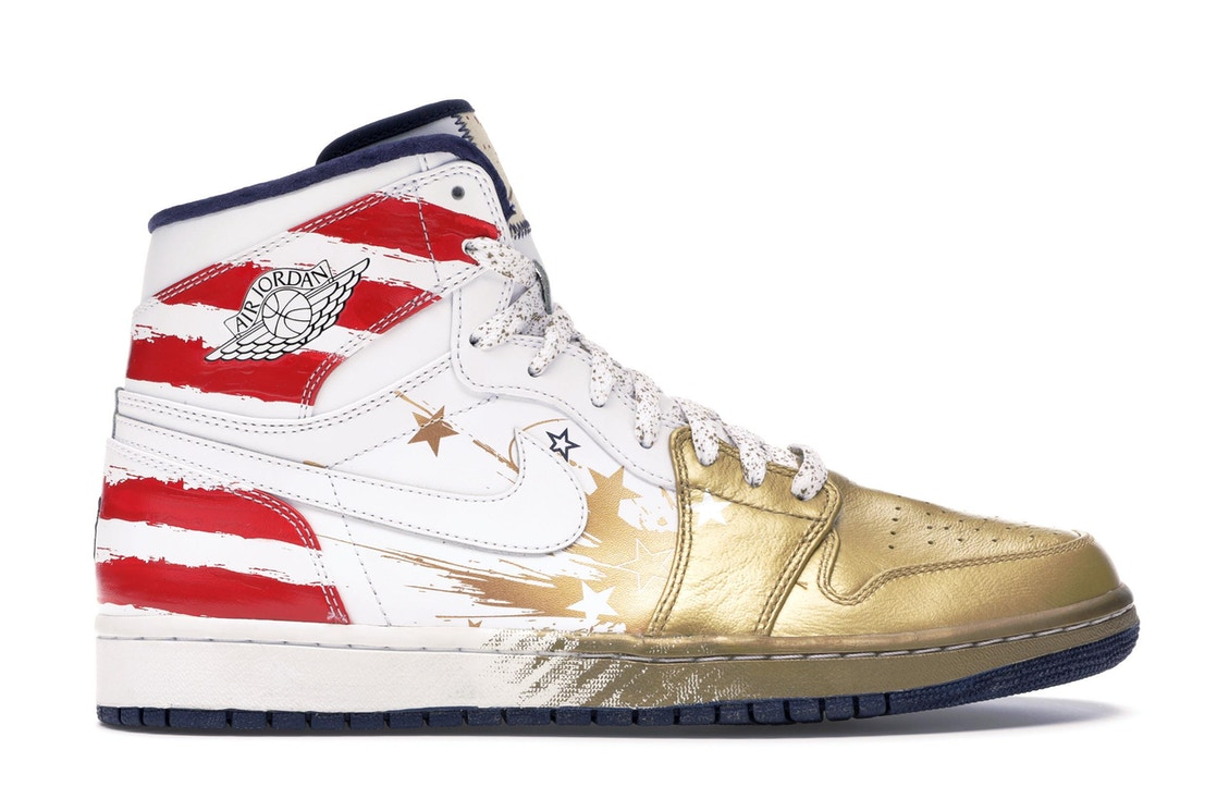 timeless design 68cb1 330ab Jordan 1 Retro Dave White Wings For the Future Gold