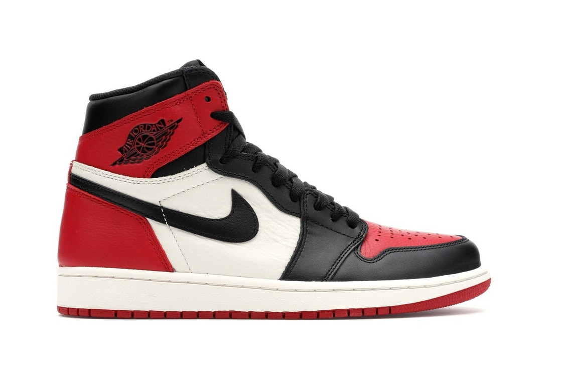 best authentic ad793 b8501 Jordan 1 Retro High Bred Toe