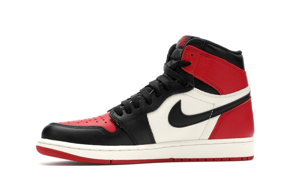 5661cc1fcd0249 Jordan 1 Retro High Bred Toe - 555088-610