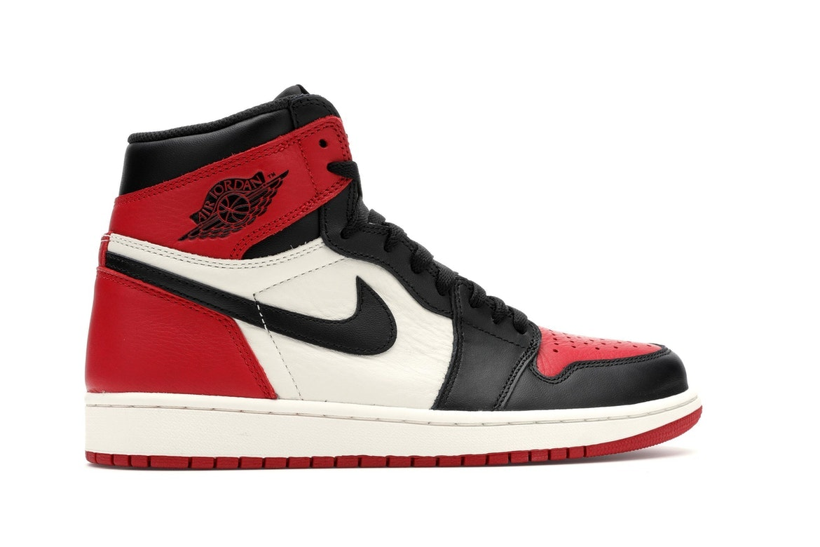 "Women's Nike Air Jordan 1 Retro High OG BG ""Black Toe"""