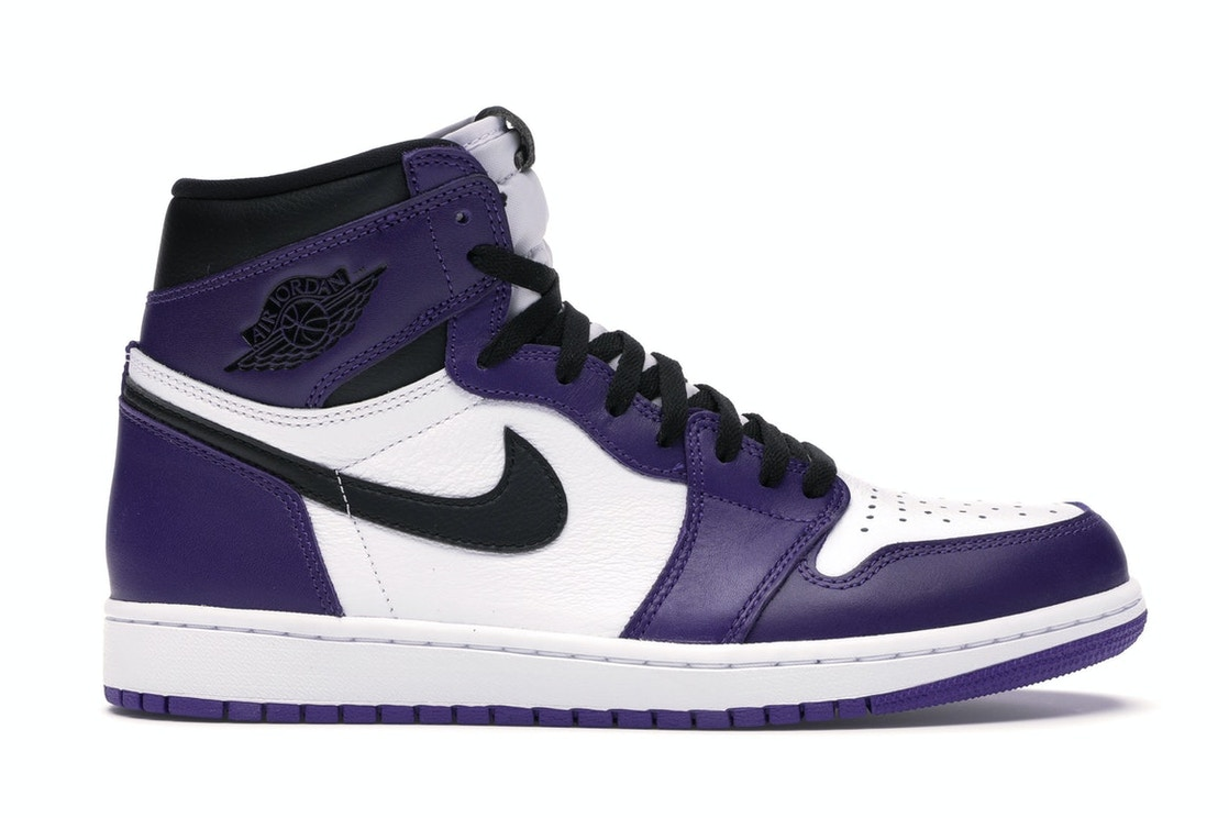 Complaciente galón Matemático  Jordan 1 Retro High Court Purple White - 555088-500