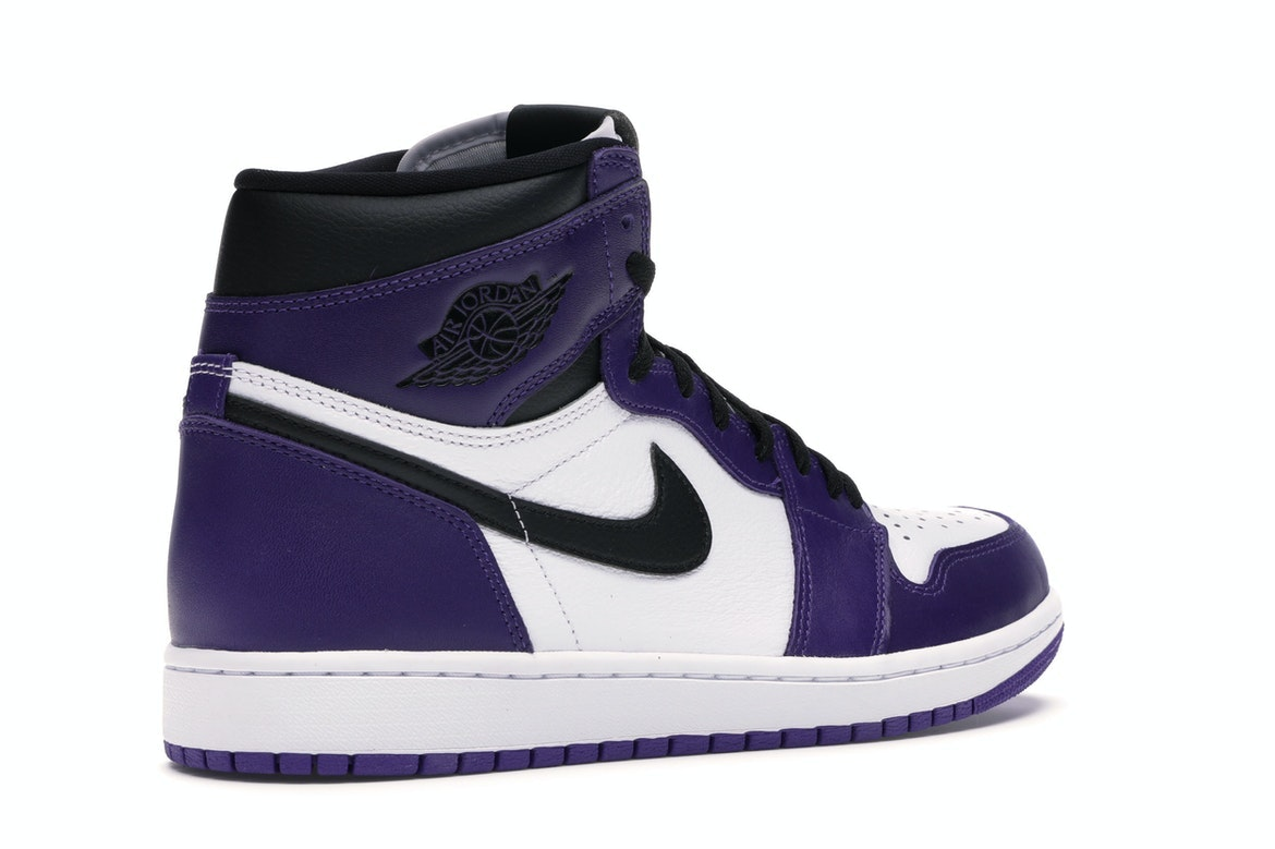 air jordan 1 court purple 2020 stock
