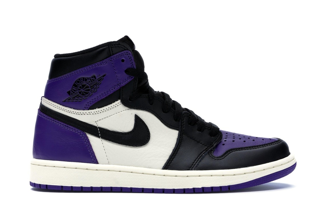 sale retailer a9f7b f4225 Jordan 1 Retro High Court Purple