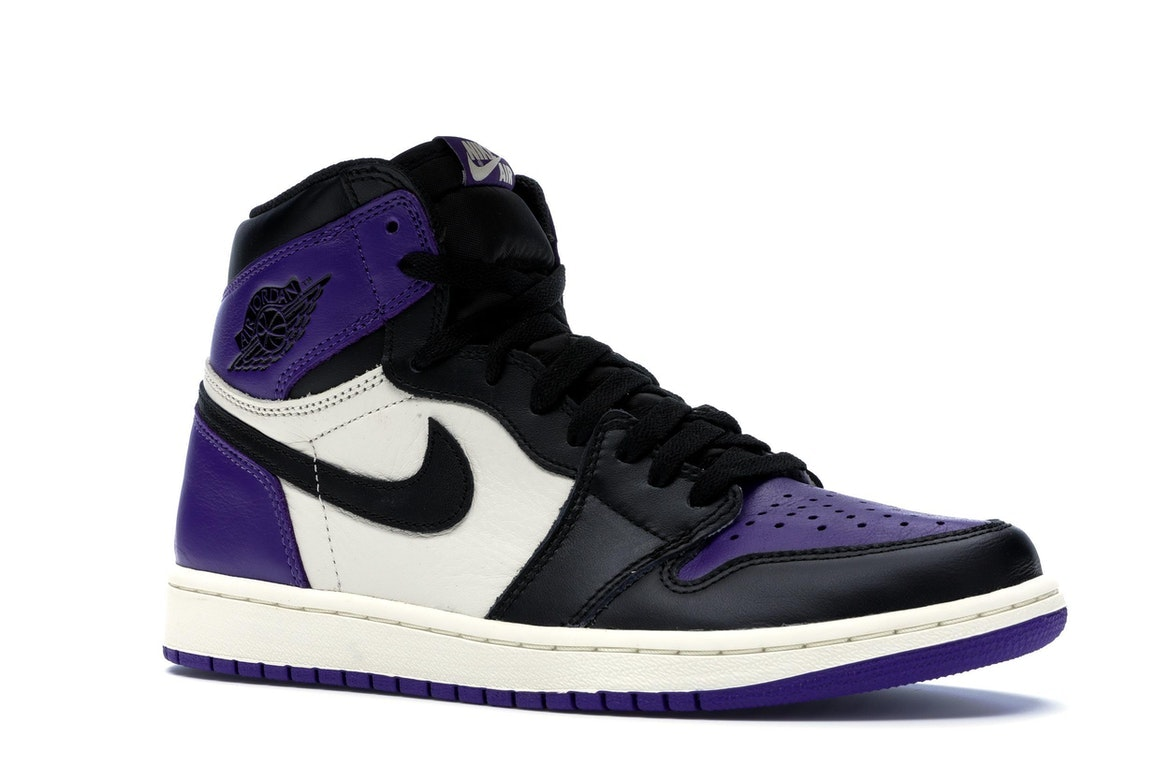 air jordan 1 retro high og court purple stockx